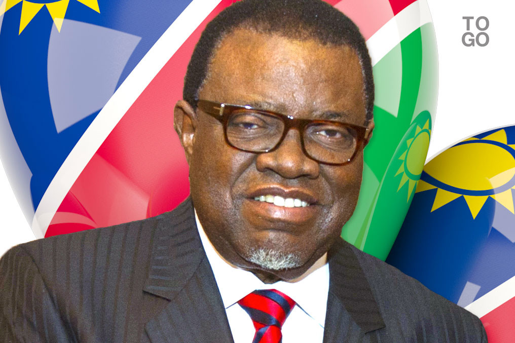 Image result for Hage Geingob