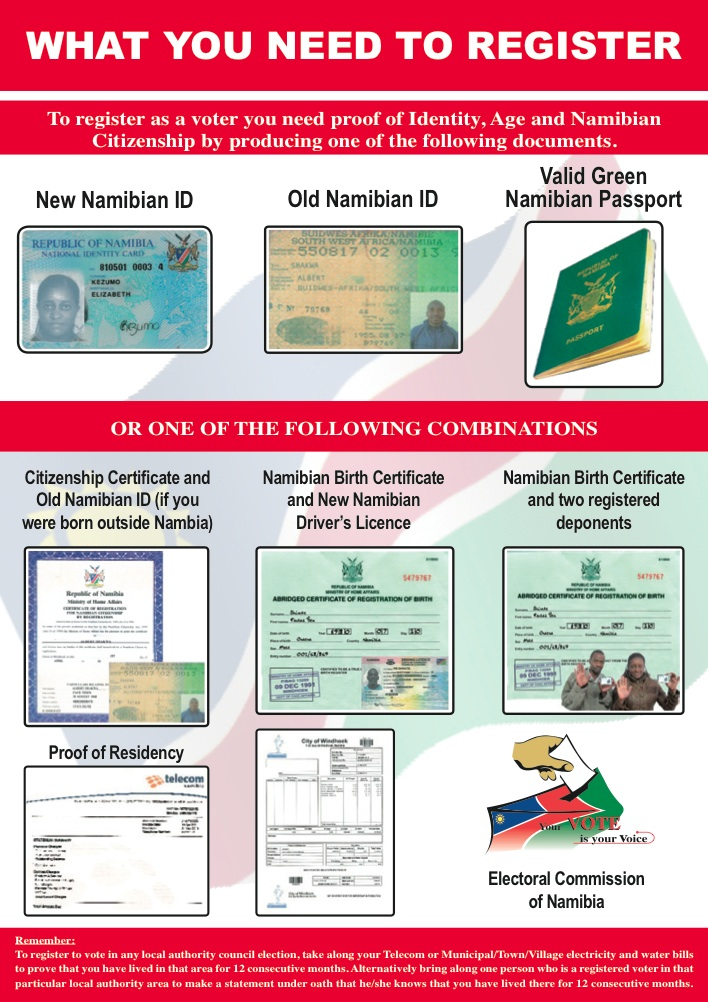 Voter Registration For Namibian Citizens In The Usa Embassy Of